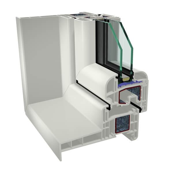 Wszystkie nowe Okna PCV, plastikowe, nietypowe, energooszczędne, pasywne, cena XW41